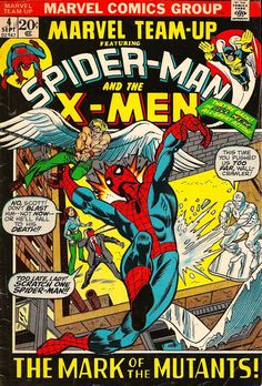 Spider-Man & X-Men, Sept. #vintage comics covers