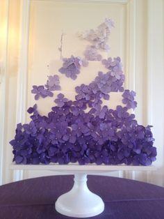 purple wedding cake | maggie-austin-purple-wedding-cake