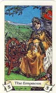 The Empress Robin Wood Tarot Deck Tarot Cards Major Arcana, Robin, Free Tarot Reading, The Hierophant, The Empress, Oracle Cards, Tarot Decks, Illustration, Wood