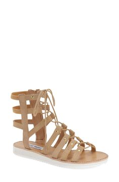 Steve Madden 'Maybin' Lace-Up Sandal (Women)
