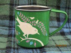 NEW*** Enamel Mug - Green ~ Camping, Picnics ~ £7.95