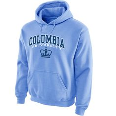 Columbia University Lions Midsize Arch Pullover Hoodie - Columbia Blue