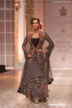 Falguni and Shane Peacock at Aamby Valley City India Bridal Fashion Week 2013