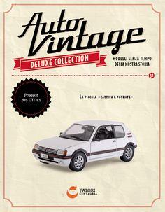 #Peugeot 205 GTI 1.9 (1988) #edicola #autovintage