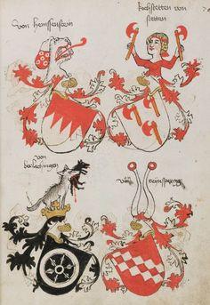 Wappenbuch des St. Galler Abtes Ulrich Rösch Heidelberg · 15. Jahrhundert Cod. Sang. 1084 Folio 76