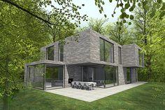 Nieuwbouw Bosvilla Laren