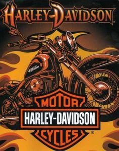 Harley Davidson bike image