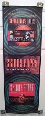 SKINNY PUPPY Rabies / Tin Omen Poster PROMO ONLY 1989 Nettwerk Records OHGR