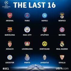 Se sortearon los cuartos de final de la UEFA Champions League ...