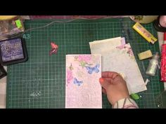 Składana książeczka do albumu, scrapbooking, tutorial, DIY - YouTube