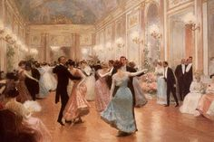 "Victorian Dancing Etiquette – Kristin Holt | ""SHUN THE WALTZ. The waltz is a dance of quite too loose a character, and unmarried ladies should refrain from it altogether, both in public and private; very young married ladies, however, may be allowed to waltz in private balls, if it is very seldom, and with persons of their acquaintance. It is indispensable for them to acquit themselves with dignity and modesty."" 1841: Gentlemen and Lady's Book of Politeness by Elisabeth Celnart."