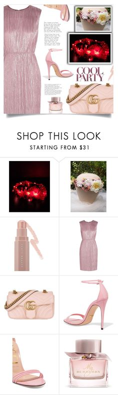 """""""Party girl!"""" by samra-bv ❤ liked on Polyvore featuring Puma, Gucci and Burberry"""