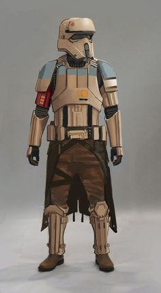 This beautiful Rogue One concept art shows off early designs for the characters - Star Wars Clones - Ideas of Star Wars Clones - Rogue One introduces us to a few Stormtroopers. Here's one of the looks made for the Scarif trooper. Star Wars Clones, Rpg Star Wars, Star Wars Books, Star Wars Clone Wars, Star Wars Characters, Star Wars Episodes, Rogue One Star Wars, Star Wars Concept Art, Star Wars Fan Art