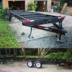 starting with a used travel trailer frame by rolling_quarters_tinyhouse
