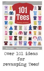 101 Ideas for revamping t-shirts