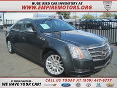 2010 Cadillac CTS st Empire Motors in Montlclair Ca. Serving customer from ALL across Southern California. www.empiremotors.org