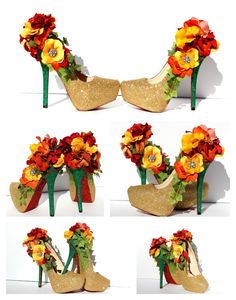 Create your heels with the colors of your choice, just message us to work out the details. We can do the base color in any shade of glitter of your liking. These heels pictured are done in champagne gold glitter that is stunning during the day or . Glitter Roses, Glitter Girl, Glitter Cups, Gold Glitter, Glitter Balloons, Glittery Nails, Glitter Flats, Glitter Fabric, Glitter Wallpaper Iphone