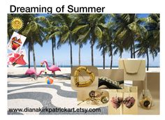 """""""Dreaming of Summer"""" by diana-32 on Polyvore featuring Bloem, CORO and vintage"""