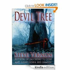 Devil Tree - Lucas Sawyer and his wife Tamsen find themselves marooned in the heart of a mid-nineteenth century wilderness forest. They are rescued by Jonah Duvall, a mysterious woodsman abiding in this strange valley with his wife Jezebel and thier son Cord. Brooding over all stands the Devil Tree - a huge evil jackpine that has summoned them to this valley to feed upon their collective emotions and their unnatural offspring.     My first - and darkest novel.