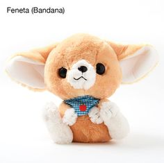 Feneky the Fennec Fox Picnic Plushies (Big)