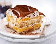 Stracciatella-Tiramisu mit Orangen