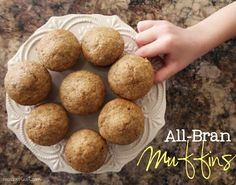 all-bran muffin recipe - dont be as surprised as i was that my kids actually love these....