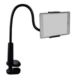 Tryone Gooseneck Tablet Stand, Tablet Mount Holder for iPad iPhone Series/Nintendo Switch/Samsung Galaxy Tabs and more, Overall Length (Black) Iphone Holder, Tablet Holder, Ipad Stand, Tablet Stand, Tablet Mount, Cell Phone Stand, Thing 1, Amazon Kindle Fire, Tablet Phone