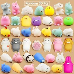 Animal Squishies, Cute Squishies, Easter Gifts For Kids, Birthday Gifts For Boys, Kids Gifts, Stress Toys, Stress Relief Toys, Cool Fidget Toys, Cool Kids Toys