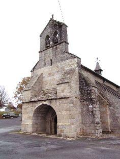 Église Saint-Maurice de Darnets. Corrèze. Limousin