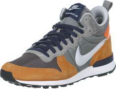 c70c654e4886a Nike Internationalist Mid chaussures gris jaune bleu Blog Mode Homme,  Chaussures Nike, Chaussure Basket
