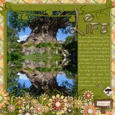 Life (Tree of) - MouseScrappers - Disney Scrapbooking Gallery