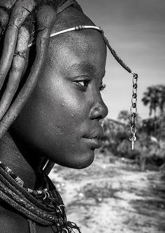 Miss Janakambenji, Himba woman, Namibia   Macro shot: F20 , …   Flickr