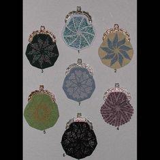 Bead Crochet Coin Purse Pattern in 7 Designs   Etsy Coin Purse Pattern, Crochet Coin Purse, Crochet Purse Patterns, Crochet Purses, Bag Patterns, Crochet Ideas, Crochet Bags, Crochet Designs, Beaded Purses