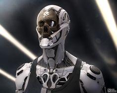 Rockerbot Re-rendering on Behance