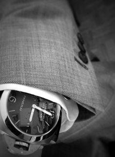 ' — Panerai Gentleman's Essentials Dream Watches, Luxury Watches, Cool Watches, Watches For Men, Gents Watches, Fine Watches, Panerai Watches, Panerai Luminor, Panerai 312