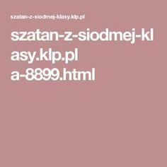 szatan-z-siodmej-klasy.klp.pl a-8899.html