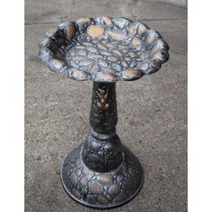 Special Offers - Oakland Living Rock Bird Bath Antique Pewter - In stock & Free Shipping. You can save more money! Check It (December 13 2016 at 11:48PM) >> http://birdhouseusa.net/oakland-living-rock-bird-bath-antique-pewter/