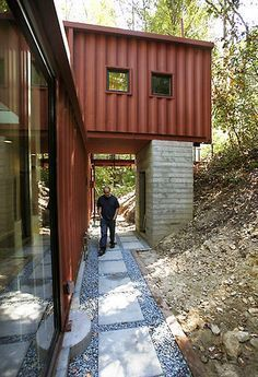 Most Beautiful Houses Made From Shipping Containers #seacontainerhomes