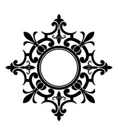 One time vinyl stencils. Medallion Stencils - High quality, affordable and easy to use, wall and floor stencil designs Stencils, Stencil Art, Stencil Patterns, Stencil Designs, Motifs Islamiques, Metal Embossing, Ceiling Medallions, Grafik Design, Vinyl Projects
