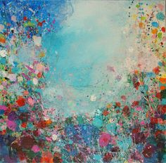 ARTFINDER: Festival by Sandy Dooley - Abstracted impressionist painting