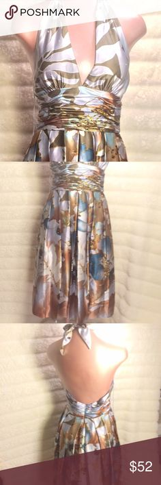 ADDRIANNA PAPELL OCCASION silk!! Absolutely amazing amazing dress! Photos do not do it justice. Beautifully detailed in silk and sequins fully lined a showstopper! You will love. Bundling save $$ Adrianna Papell Dresses Midi