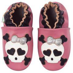 Momo Baby Infant/Toddler Skull Soft Sole Leather Shoes:Amazon:Shoes