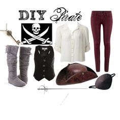 """DIY Pirate"" by shannonkathleen on Polyvore"