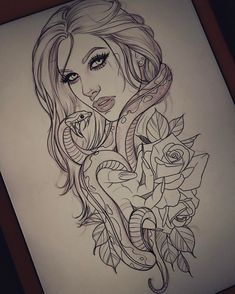 """408 Likes, 9 Comments - Madeleine Hoogkamer (@madeleinehoogkamer.tattoo) on Instagram: """"Another gypsy :) Hope my client likes it..."""""""