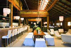 Vineyard Ranch and Barn, Glen Ellen, CA (150-175 guests) is rustic, chic, and modern all at once. A wedding here will cost a pretty penny, but it would be SO fun.