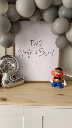 Boys First Birthday Party Ideas, Birthday Themes For Boys, Baby Boy 1st Birthday, Toy Story Birthday, Boy Birthday Parties, Cumple Toy Story, Festa Toy Story, Toy Story Party, Toy Story Decorations