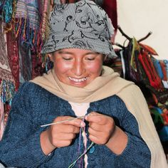 Your purchases empower artisans and help children in need in Bolivia. One beanie = Five meals I One bracelet = One dental care. Tribal Fashion, Unique Fashion, Style Fashion, Indigenous Art, Children In Need, Fair Trade, Winter Fashion, Fashion Accessories, Winter Hats