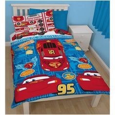 Disney - Cars Cars Single Reversible Duvet Cover Set. Check it out!
