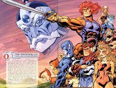 Thundercats by Ed McGuinness w/ Jason Martin & Cartoon Toys, Retro Cartoons, Classic Cartoons, Cartoon Characters, Anime Tv Series, Gi Joe, Snarf Thundercats, Thundercats 1985, Comic Books Art