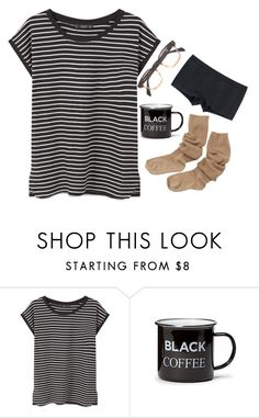"""""""morning"""" by adele-adik ❤ liked on Polyvore featuring MANGO, Old Navy and Uniqlo"""